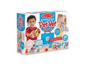 Examine & Treat Pet Vet Play Set - Pretend Play Toy by Melissa & Doug (8520)
