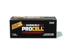 DURACELL Procell PC1500 1.5V AA Alkaline Battery, 24-box