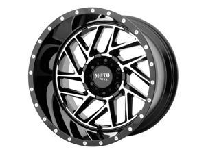 Moto Metal MO985 Breakout Machined Black 20x12 8x165.1 -44mm (MO98521280344N)