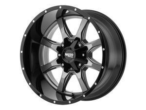 """Moto Metal MO970 18x9 5x5.5""""/5x150 +18mm Gunmetal/Black Wheel Rim 18"""" Inch"""