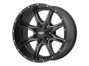 Moto Metal MO970 Black Milled 17x8 6x120 / 6x139.7 0mm (MO97078078900)