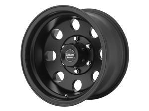 American Racing AR172B Baja Satin Black 15x7 5x120.7 -6mm (AR1725761B)