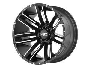 Moto Metal MO978 Razor Machined Black 20x12 8x180 -44mm (MO97821288544N)