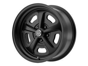 "American Racing VN501 Mono Cast 17x9 5x4.75"" +12mm Satin Black Wheel Rim 17 Inch"