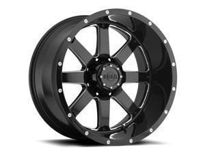 Gear Off Road 726MB Big Block Gloss Black Milled 20x12 8x170 -44mm (726MB-2128744)