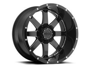 Gear Off Road 726MB Big Block Gloss Black Milled 20x12 6x135 / 6x139.7 -44mm (726MB-2126844)