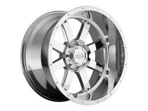 Gear Off Road 726C Big Block Chrome 20x10 6x135 / 6x139.7 -19mm (726C-2106819)