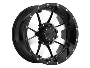 Gear Off Road 726M Big Block Machined Black 20x12 8x170 -44mm (726M-2128744)