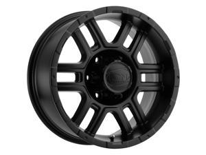 "Ion 179 17x8 6x5.5"" +10mm Matte Black Wheel Rim 17"" Inch"
