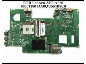 FOR Lenovo All In One A520 AIO Motherboard DA0QU5MB8C0 FRU:90001180 HM76 PGA989 DDR3 100% Fully Tested