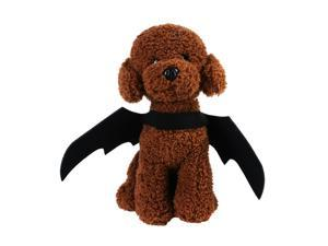 Pet Halloween Costume, Pet Bat Wings for Halloween Party Cosplay Decoration, Pet Costumes Apparel Clothes for Cat Dogs, Black
