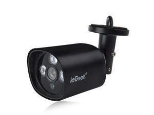 GW Security GW5237IP PoE IP Camera 5 Megapixel 2592 x 1920 Pixel Super HD  1920P Network PoE (Power Over Ethernet) 1080P Weatherproof Security Camera