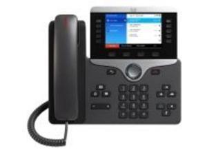 Cisco 8861 IP Phone - Wall Mountable, Desktop - Black - 5 x Total Line - VoIP - Caller ID - User -