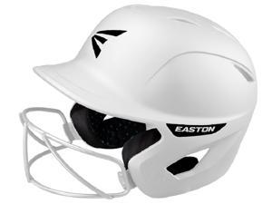 Easton Ghost Softball Batting Helmet w/ Mask Matte White L/XL