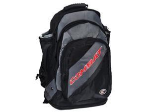 Combat Black / Red Derby Life Backpack Player Bat Pack Baseball / Softball