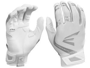 1pr Easton ZF7 VRS Hyperskin Womens Small White / White Fastpitch Batting Gloves