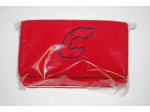 """1 Pair Combat 6"""" Red Wristbands New In Wrapper!"""