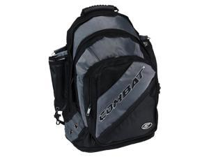 Combat Black / Charcoal Derby Life Backpack Player Bat Pack Baseball / Softball