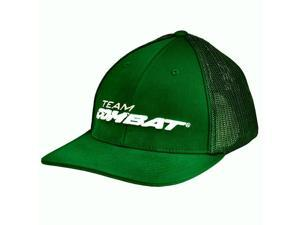 Combat Green Full Color Trucker Hat Size Large / X-Large Fits 7 3/8 - 7 7/8 New!