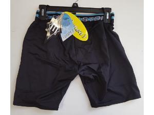 "1 Pair Easton A164110 Womens Sliding Shorts Black Large Waist Size 30""-32"""