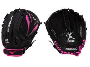 "Louisville Slugger Mesh 12/"" Infield Baseball Softball Glove Black Orange RHT"