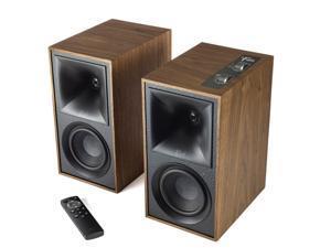 Klipsch Heritage Wireless The Fives Walnut Home Audio Speaker Pair