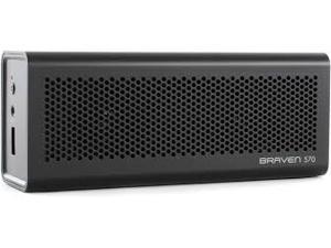 Braven 570 Black Bluetooth Portable Rechargeable Speaker BLACK - EACH