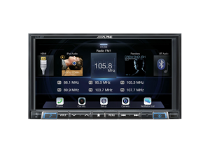 Alpine iLX-207 Digital Media Receiver With Wireless Apple CarPlay