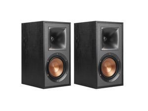 Klipsch R-51M Reference Bookshelf Speakers – Black – Pair