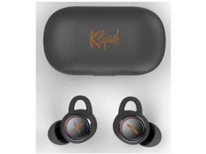 Klipsch T3 Black True Wireless Earphone with Charging Case and Voice Assistant