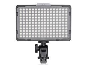 Photo Studio 176 LED Lighting Ultra Bright Dimmable On Camera Video Light for Canon,Nikon,Pentax,Panasonic,Sony,Samsung,Olympus and Other Digital SLR Cameras(PT-176S)