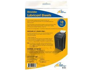 Royal Sovereign RS-SLS Shredder Lubricant Sheets - 10 Pack