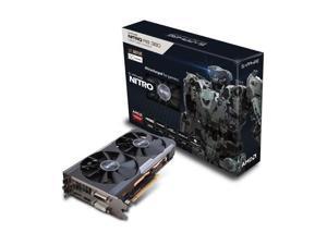 Sapphire AMD Radeon Nitro R9 380 4GB GDDR5 2DVI/HDMI/DisplayPort PCI-Express Video Card w/ Back Plate