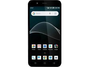 AT&T AXIA QS5509A 16GB Prepaid Phone Dark Blue