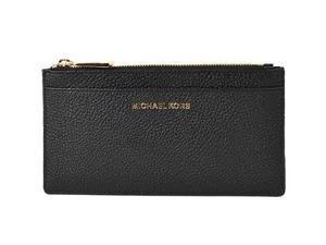 MICHAEL Michael Kors Women's Jet Set Card Holder, Black, One Size 32S8GF6D7L-001