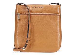 Michael Kors Riley Small Pebbled Leather Messenger Bag- ... e4def8d6fb8c7