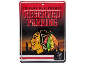 Chicago Blackhawks - Reserved Parking Metal Sign