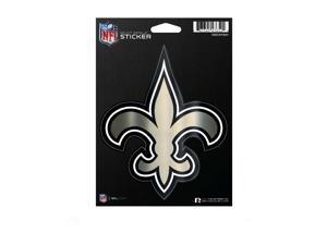 New Orleans Saints Die Cut Metallic Sticker