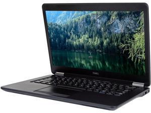 """Dell Latitude E7450 Intel i5-5300U 2.30Ghz 8GB RAM 256gb SSD  14"""" HD Graphics Win 10 Pro Webcam"""