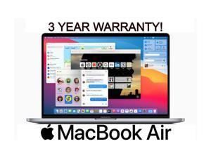 Apple Macbook Air 13.3-inch (Glossy) 2.2 GHZ Dual Core i7 (2017) Z0UU1LL/A* 128GB SSD 8GB Memory 1440 x 900 Display Mac OS BIG SUR - 3YR WRTY