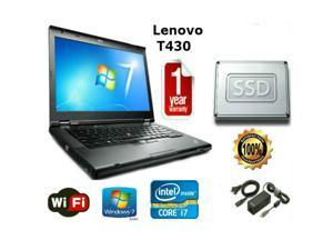 """Lenovo Thinkpad T430 - i7-3520M 2.9GHz - 16GB Memory - 512 GB SSD - 14"""" HD Windows 7 Pro 64 - 1 YEAR WARRANTY"""
