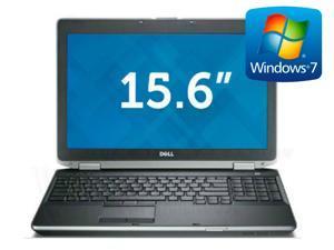 """Dell Latitude E6520 2nd Gen i5 2.5GHz - 8gb RAM - 120GB SSD- 15.6"""" LCD Screen - Windows 7 Pro 64"""
