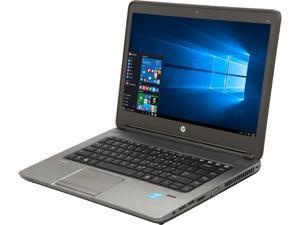 "HP Laptop ProBook 640 G1 Intel i5 4th Gen 4210M (2.6 GHz) 8 GB Memory 256 GB SSD 14.0"" Windows 10 Pro 64-bit"