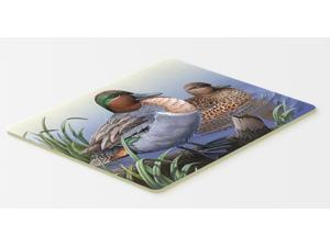 Multicolor Carolines Treasures PTW2057CMT Teal Ducks in the Water Kitchen or Bath Mat 20 by 30