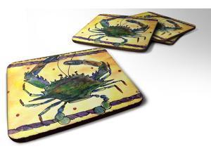 Set of 4 Crab Foam Coasters