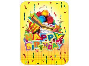 Happy Birthday Party Glass Cutting Board Large APH8873LCB