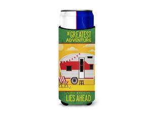 Greatest Adventure Retro Camper Desert Michelob Ultra Hugger for slim cans BB5479MUK