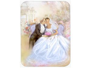 Wedding Couple Kiss Glass Cutting Board Large APH8292LCB