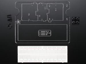Adafruit Pi Dish (Version 2) for Raspberry Pi Model A / B / B+ - Includes Breadboard