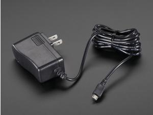 MicroUSB 5.25v 2.5A Power Supply for Raspberry 1, 2, 3, 3B+, Zero
